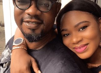 Nollywood Actor Charles Inojie celebrates 8th wedding anniversary with wife