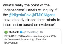 Oby Ezekwesili Laughs At FG's Threat To Sanction CNN