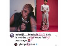 Olamide's Ybnl Princess Temmie Ovwasa New Look