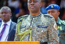 Oyo Governor Makinde Wears Amotekun Outfit During Passing Out Parade Of Oyo Amotekun Corps
