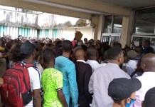 Photos Of Massive Crowd Queued For Job Application Submission In PH Rivers State - 5000 Rivers State Job