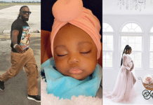 Singer Timaya unveils his beautiful daughter - Meet my daughter she is six months old