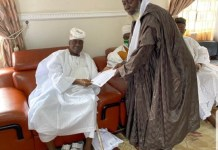 Supreme Council For Sharia In Nigeria Visits Oba Of Lagos