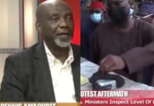 Video Of Former Deputy Director SSS Dennis Amachree Saying Camcorder Found By Fashola At Lekki Tollgate Looked Planted