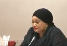 Video Of Managing Director of the Nigerian Commodity Exchange Zaheera Baba Ari Failing To Provide Current Food Prices