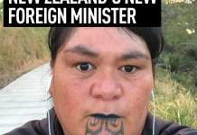 Video Of New Zealand First Gay Deputy PM And A Foreign Minister With Facial Tattoo