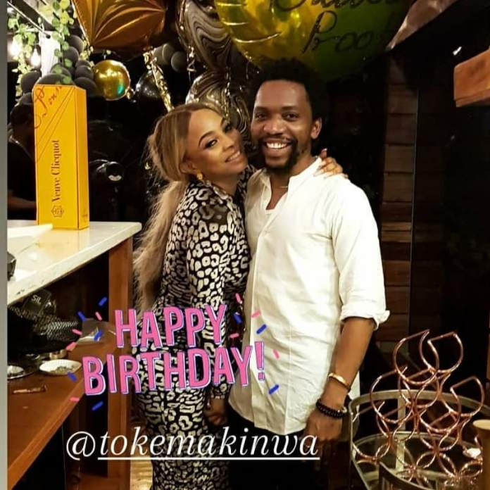 Video Of Toke Makinwa's 36th Birthday Party