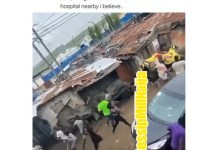 Video Of Traders In Ladipo Market Lagos Running as Unknown Gunmen Opened fire