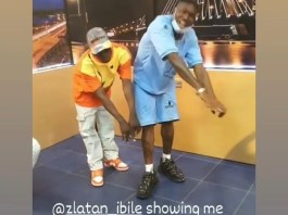 Video Of Zlatan Ibile Showing Palliative Dance Moves