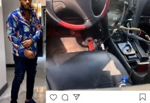 Video Shared By bbnaija Frodd Being Attacked By Armed Robbers And His Car Destroyed