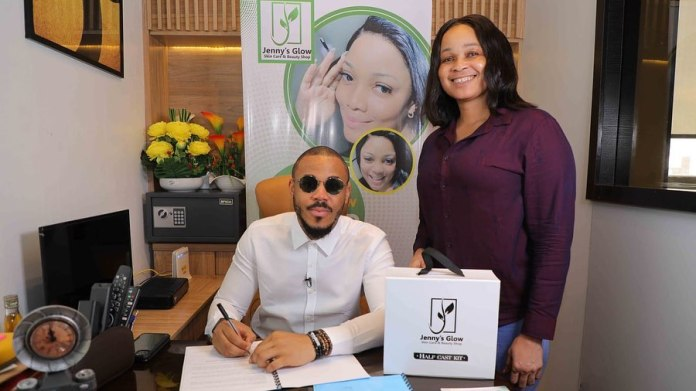bbnaija Ozo Bags Jenny's Glow Endorsement Deal