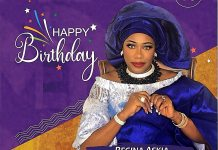 Ex beauty Queen And Nollywood Actress Regina Askia Celebrates Her 53rd Birthday With Stunning Pictures