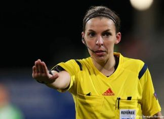 First Woman Stephanie Frappart To Officiate Men's Champions League Match
