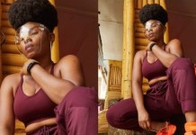 Popular Nigerian singer Yemi Eberechi Alade AKA Yemi Alade Stuns In New Photo As She Announces The Release Of Her Album
