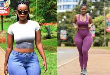 The Huge Curves And Backside Of A Kenyan Lawyer Corazon Kwambosa