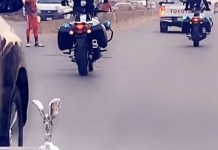 Video Of Emoney's Outriders Performing Exciting Stunts In Onitsha