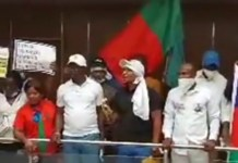 Video Of Ijaw Youths Invading NDDC And Demand Resignation Of Akpabio