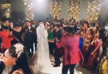 Video Of Rudeboy Performing At Presidential Wedding In Equatorial Guinea