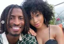 Nigerian footballer Peter Olayinka And His Fiancee, Yetunde Barnabas In New Pictures
