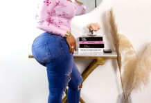 Nollywood Actress, Daniella Okeke Shares Hot Photo On Instagram To Wish Her Fans A Happy New Year