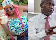 Until they post your daddy next - Fan blasts DJ Cuppy for allegedly mocking Dangote's leaked picture