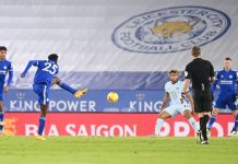 Wilfred Ndidi Scores As Leicester Beat A Below Par Chelsea To Top The EPL Table