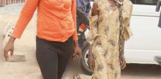 Civil Defense Corps Rescues Teenage Girl Chained By Her Mother In Abia State