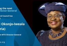 Ngozi Okonjo Iweala Appointed As WTO Director General And Term Starts 1st March 2021