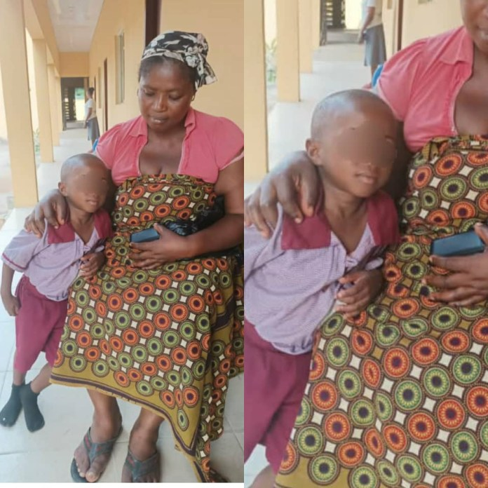 A four year old boy of the St. Joseph School Otolo Nnewi rescued from his abductors in Anambra