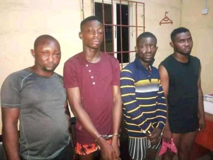 Photos Of Armed Robbers Who Killed Two POS Agents In Aba