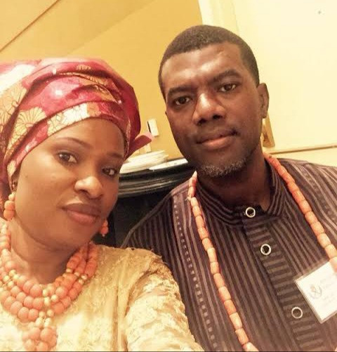 The Reply Reno Omokri's Wife Gave A Follower Who Called Reno Her Crush