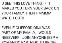 Uti Nwachukwu Blasted By Fans Over His Comment About Clifford Orji