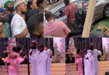 Video Of Singer Patoranking Giving His Sister And Her Husband A Car As Wedding Gift