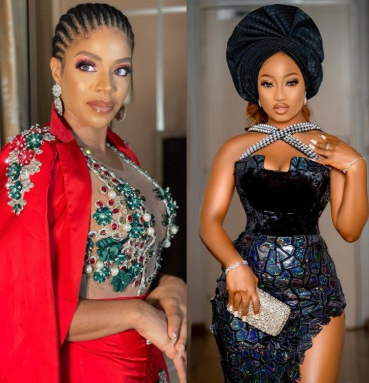 Ex Bbnaija Housemate Venita Akpofure Slams Esther Biade after she threw shade at Tolani Baj - We know how you move around your friend's love interest