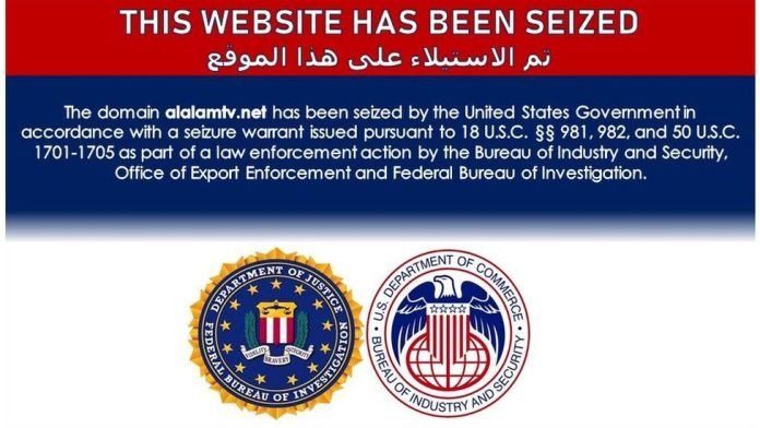 US Government takes down dozens of Iranian news websites
