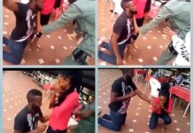 Video Of The Marriage Proposal Of A Fake Yahoo Boy Arrest That Got A Lady Crying