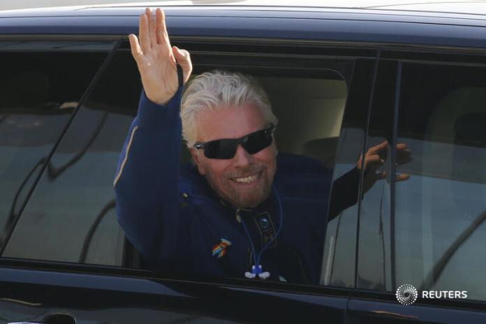 Video Of Richard Branson And Crew Flight To Space