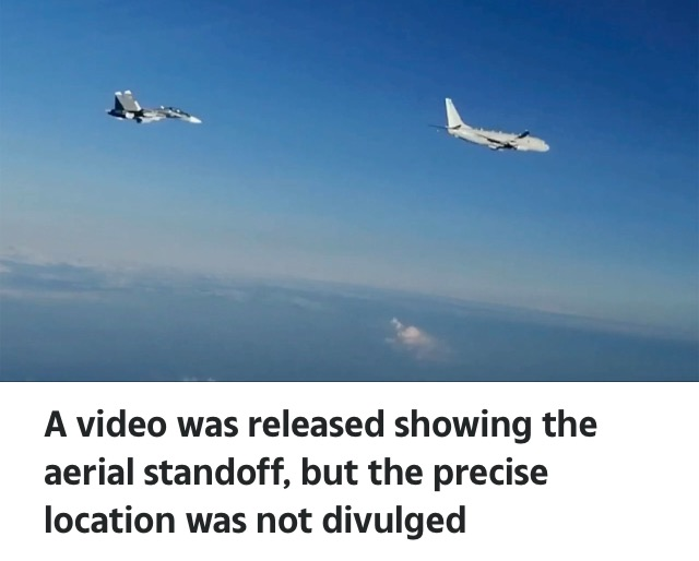 Video Of Russian Fighter Jets Deployed To Intercept US Spy Plane Over Black Sea