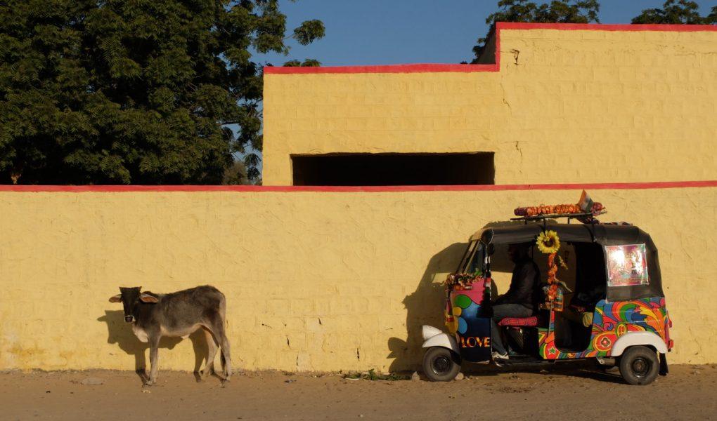 a pimped up rickshaw