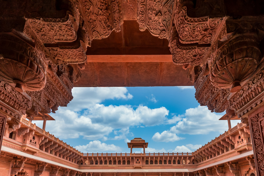 Agra Fort is one of the must visit destinations in India
