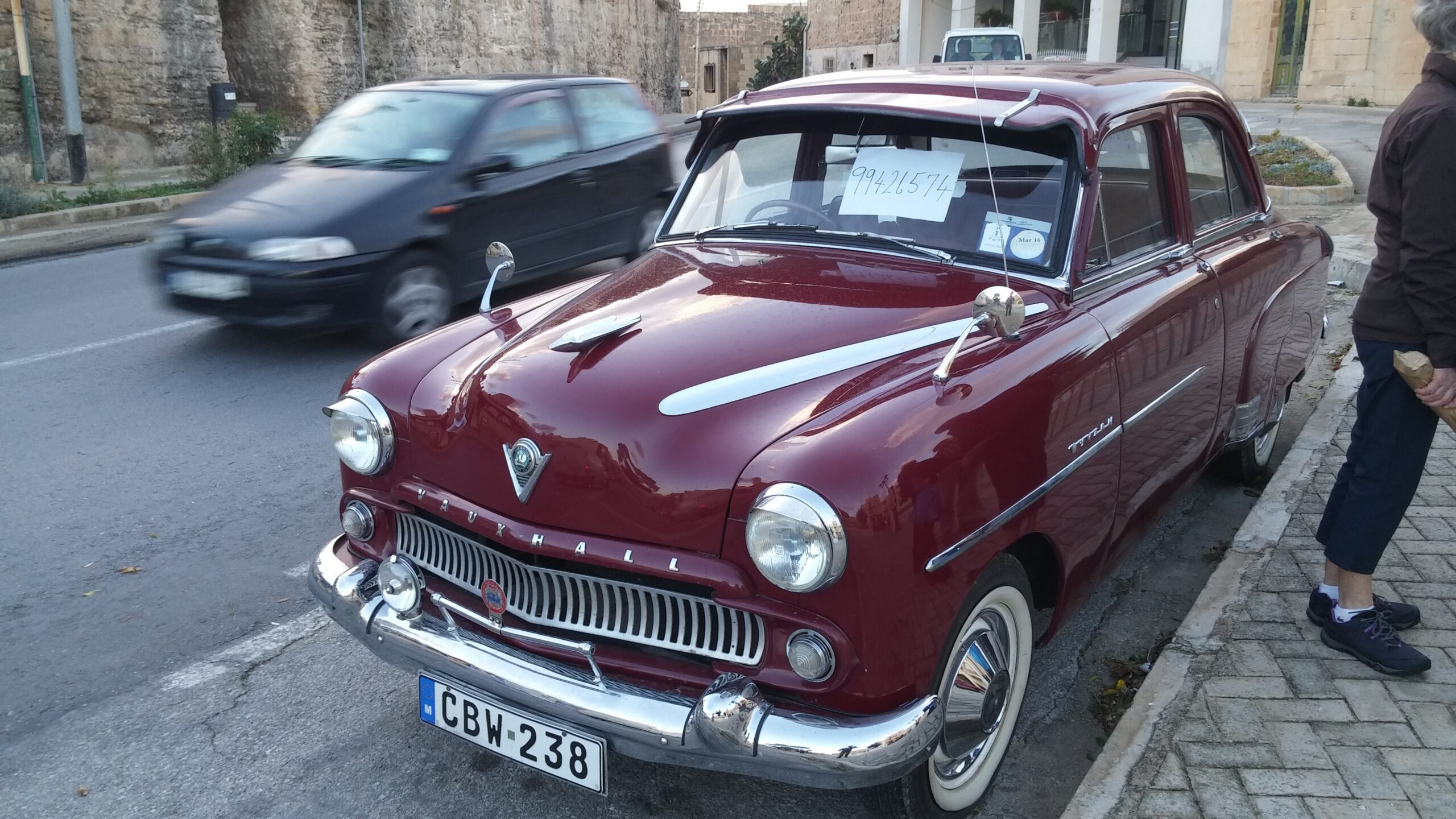 old cars are everywhere in Malta