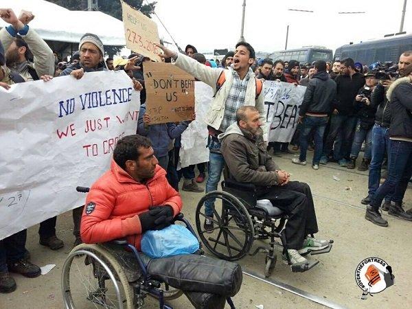 idomeni protesta