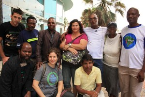 waste pickers at cop17