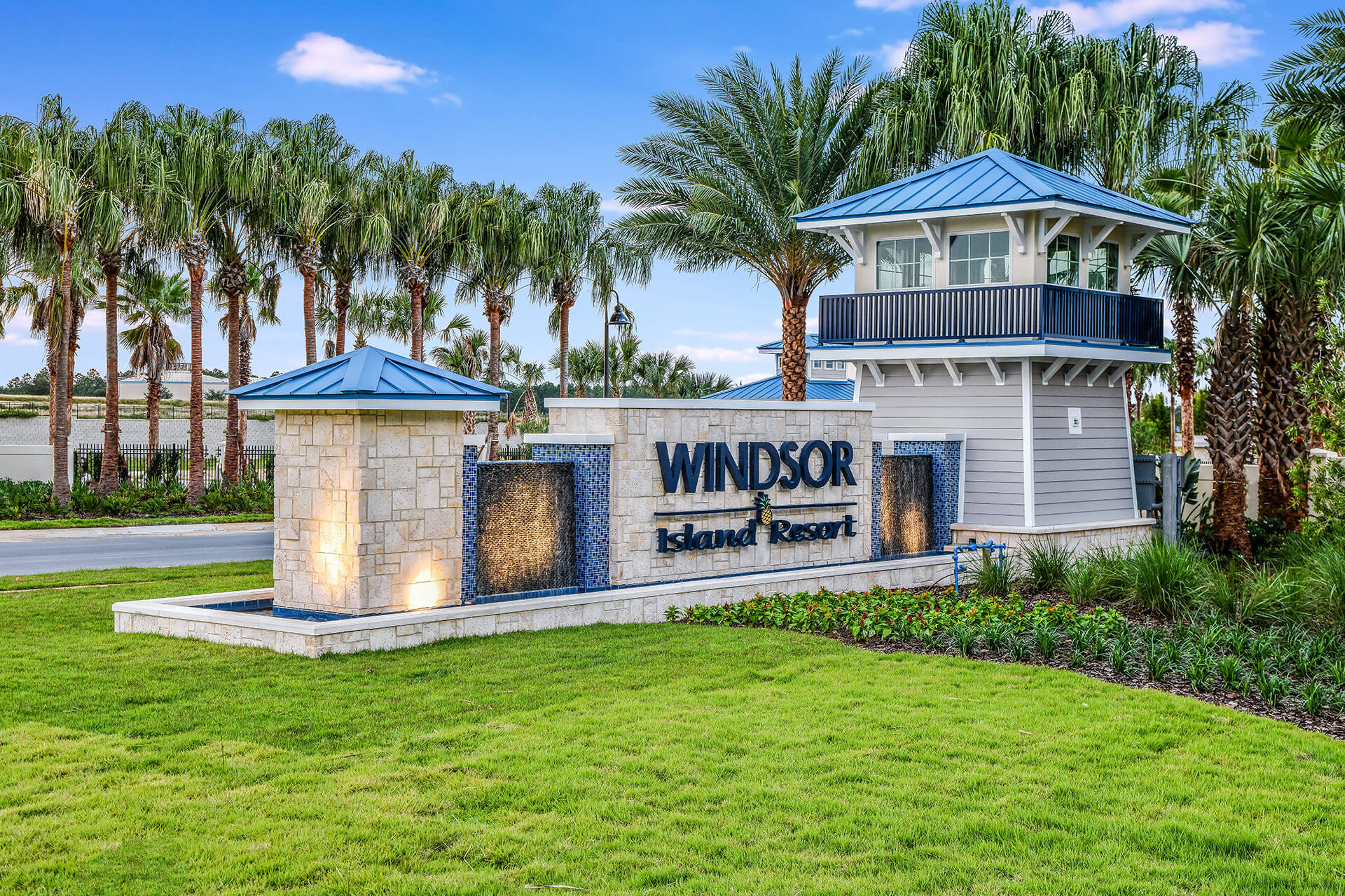 Windsor Island Sign