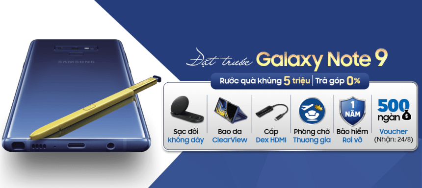 Owns Galaxy Note 9, receive exclusive insurance for 1 year