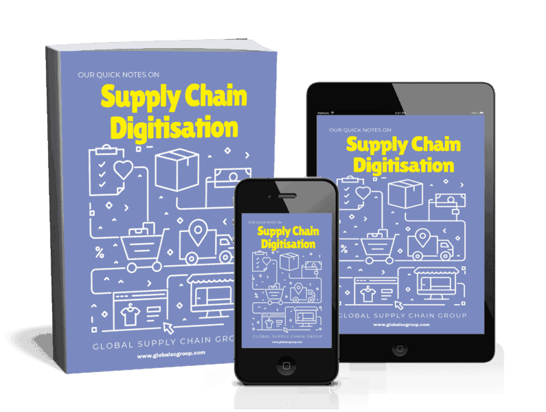 Our Quick Notes On Supply Chain Digitisation