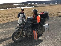 Für Motorradfahrer sind die nördlichen Highways oft lebensgefährlich.