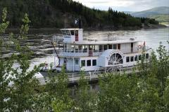 Mit der Klondike Spirit erkunden Touristen das Delta um Dawson City.