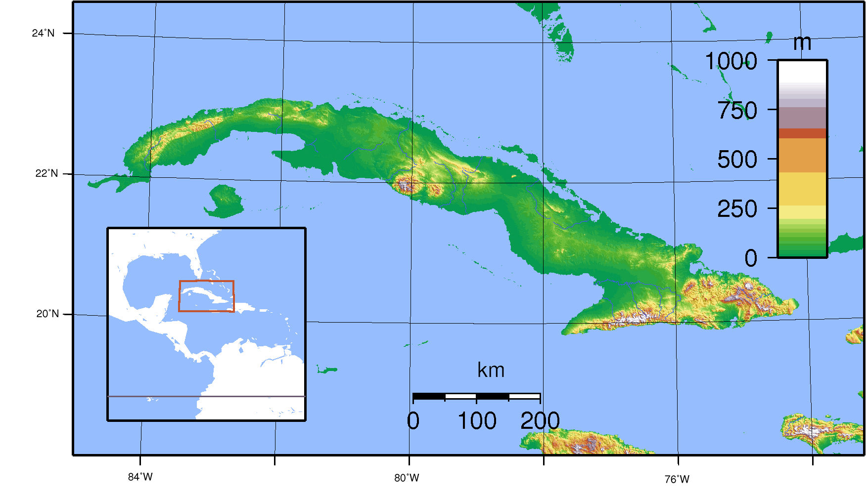 Cuba Maps