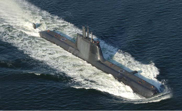 Image result for type 214 submarine